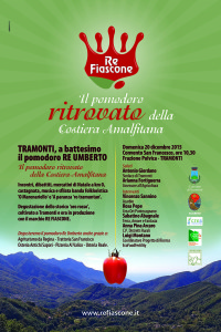 20 dicembre 2015: presentazione ufficiale Re Fiascone a Tramonti