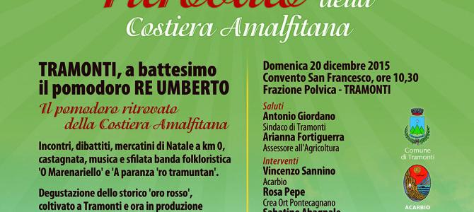 """A Tramonti la presentazione ufficiale del """"Re Fiascone"""""""