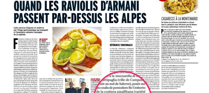 Marianna, on the French magazine the exaltation of our ancient tomato